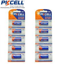 [USA] 10 pcs PKCELL 12V 23ae 21/23 A23 23A 23GA MN21 Alkaline Batteries