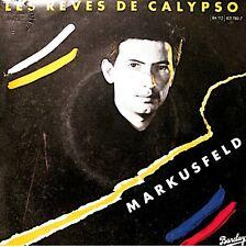 ++MARKUSFELD les reves de calypso/town's gold SP 1984 PROMO BARCLAY EX++