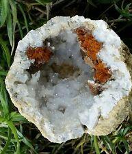Keokuk Geode with Quartz Dolomite and Hematite, Illinois