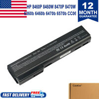 Battery for HP EliteBook 8460p 8460w 8470p 8470w 8560p 8570p HSTNN-I91C