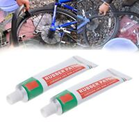 2pcs 15g Bicycle Tire Bike Repair Tool Kit Cold Rubber Patch Cycling Glue Tools