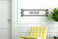 Home Schild Framed Vinilo Pegatinas De Pared Adhesivo Decoración
