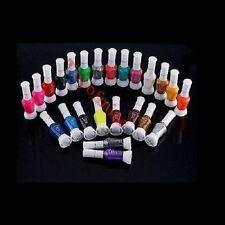 24 couleurs se mélangent Glitter 2 Way Nail Art Conseils Pinceau Vernis polonais