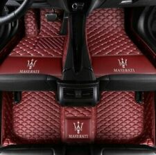 For Maserati Ghibli GranTurismo Levante Quattroporte Custom Made Car floor mats