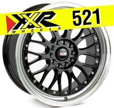 XXR 521 18x8.5 5-114.3/5-120 +25 Gloss Black Wheels (Set of 4) Classic Mesh