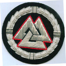 Ancient Pagan Norse Nordic Viking Rune Sigil Occult Symbol Valknut Patch War God