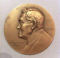 Medaille  Heinrich Abel S.J.  1924