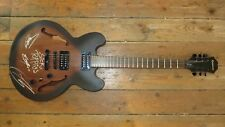 EPIPHONE DOT STUDIO WS SEMI HOLLOW BODY ELECTRIC GUITAR SIGNED BY SICK PUPPIES