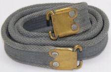 RAF blue 303 enfield canvas rifle sling w brass ends 42in x 1 1/4in each E7966
