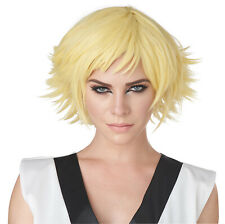 California Costumes Feathered Cosplay Wig, Yellow, ACC