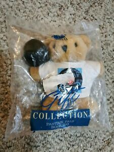 """Avon Gift Collection Pastime Pals I Love Fishing 6"""" Teddy Bear New Unopened (A6)"""