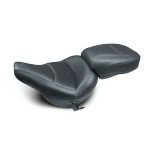 MUSTANG Touring Solo Asiento, Negro, Para Heritage, Deluxe 18-19