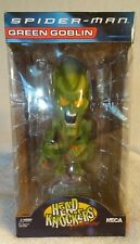 Neca Spider-man Green Goblin Head Knockers Bobble head New In Box!