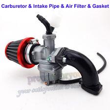 PZ22 Carburetor 22mm Carb Intake Air Filter For 110 125cc ATV Quad Pit Dirt Bike