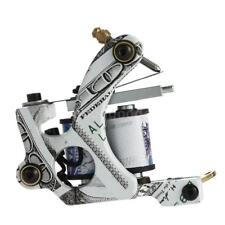 New Pro 6-8V Carbon Steel Tattoo Machine Shader Liner 10 Wrap Coils Durable Q9Y4