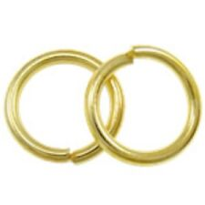25pc 20mm large gold finish jump rings-FR7
