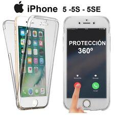 Funda doble completa TPU 360 grados para Iphone 5 y Iphone 5S envío desde España