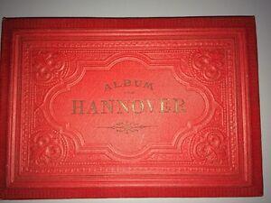 HANNOVRE. ALBUM VON HANNOVER. Fin XIXeme.