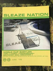 sleaze nation magazine -  june 1998