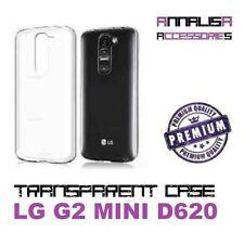 COVER TRASPARENTE LG G2 MINI D620 CUSTODIA PROTEZIONE TPU TRANSPARENT SLIM CASE