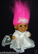 """Wedding Bride - 5"""" Russ Troll Doll - New In Original Wrapper"""