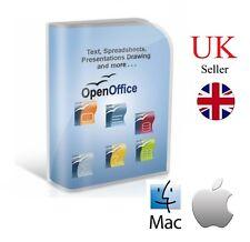 Open Office 2018 Apple Mac - Office 2013 2016 365 Digital Download UK Macbook