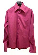 Axxess Dress Shirt Size Large 41/42 Mens Button Up, Long Sleeve, French Cuffs
