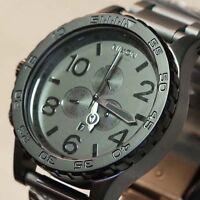 NEW Nixon Watch 51-30 Chrono Black Gunmetal, A0831062,5130,SALE MEN GIFT!NICE+++
