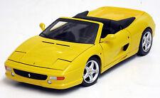 Hot Wheels Elite 1/18 Ferrari F355 Spider Yellow BLY35