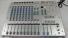 SoundLab G742 1000W PA Powered Mixer Amp Amplifier 12 Chanel Mixing Desk Effects