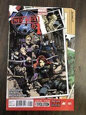 Secret Avengers #1 (2013) Hawkeye Black Widow Budapest? Marvel Comics