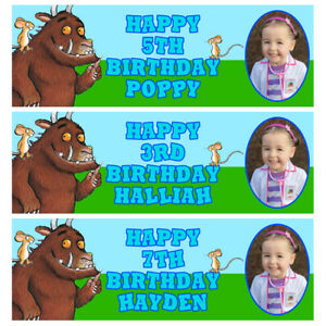 GRUFFALO PHOTO Personalised Birthday Banner - Gruffalo Birthday Party Banner