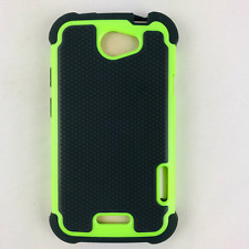 HTC One X endeavor edge supreme S720E Hybrid Phone Case Hard & Soft Rubber Cover