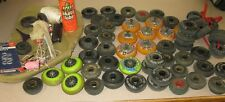 assortment of inline wheels..Used...Bag of assortment tools etc..
