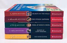 Lot 5 AmericanGirl Mystery HC Books Josefina Samantha Julie Rebecca Felicity