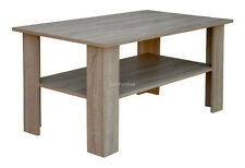 Coffee table furniture living room wood effect oak truffle 1100mm