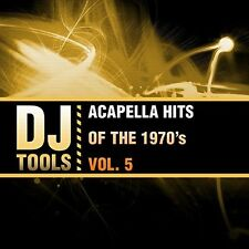 Dj Tools - Acapella Hits Of The 1970's Vol. 5 [New CD] Manufactured On Demand