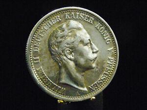 - M.F.B - Deutsches Reich - 2 Mark  Preussen 1908 A - Wilhelm II - erhaltung  12