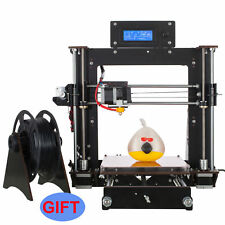 2017 3D  Upgraded Full Quality High Precision Reprap Prusa i3 DIY Free shipping