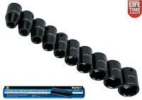 "BlueSpot 10pc 1/2"" Drive Metric Impact Socket Set 9mm - 27mm 01537"