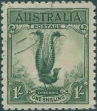 Birds Australian KGV Head Stamps