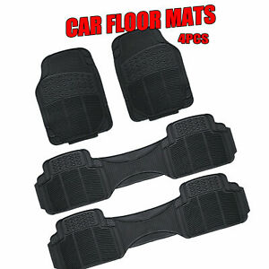 4 Pieces Flexible Rubber Auto Floor Mat Suit For Volkswagen Transporter10-on Van