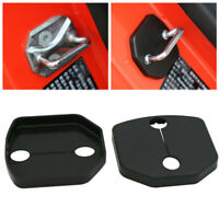 2pcs Set Auto Car Door Lock Cover For Ford Mustang 2015-18 Buckle Protector Trim