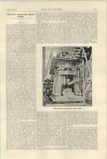 1922 1600 Bhp Nobel Diesel Marine Engine Sweden 1