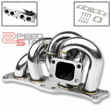 FOR CELICA/MR2 3S-GTE TURBO 2.0L T3/T4 OUTLET FLANGE STAINLESS EXHAUST MANIFOLD