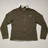 The North Face Womens Size Large Brown Lined Apex Bionic Soft Shell Jacket EUC