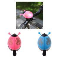Kids Children Bike Bicycle Ladybird Ladybug Bell Ring Boys Girls Novelty T9U2R