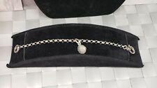 Giovanni Raspini Charm Toggle Bracelet 925 Sterling Silver Charm