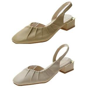 43 42 41 Ladies Smart Comfort Closed Toe Low Heel Oxfords Office Summer Shoes D