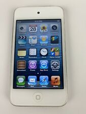 Apple iPod Touch 4th Gen. (A1367) White 8GB - Great Condition Fully Functional